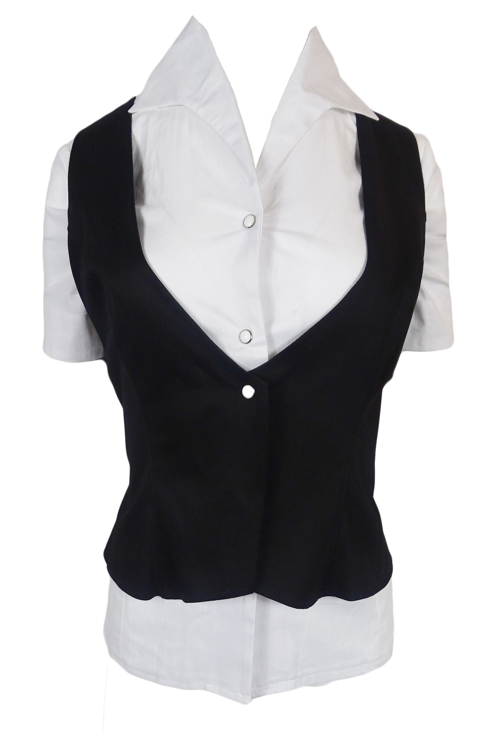 Blouse with Waistcoat (ladies)